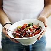 Tomato and onion salad