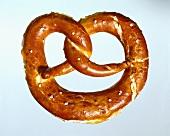 A salted pretzel