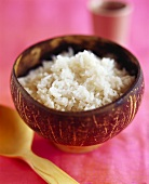 A bowl of coconut rice (Thailand)