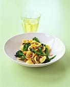 Orecchiette alla pugliese (Pasta with broccoli & chili)