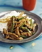 Jalfrezi (Indian meat dish)