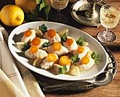 Gefilte fish (Jewish fish dumplings)