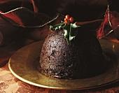 British Christmas pudding