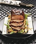 Roast veal à la Singapour