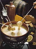 Beer fondue
