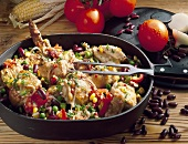 Chicken and vegetable ragout