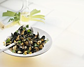 Mussels, Rhineland style