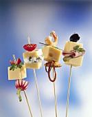 Käse-Spießchen