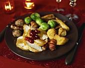 Roast turkey for Christmas