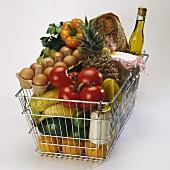 Full shopping basket