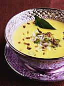 Sweet yoghurt curry (Gujurat, India)