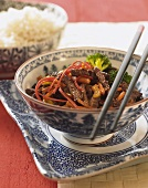Chinese beef, Szechuan-style