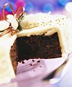 British Christmas cake