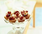 Cup Cakes mit frischen Beeren