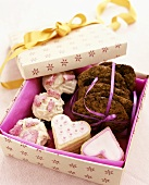 Assorted biscuits to give as a gift