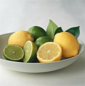 Still life with lemons and limes