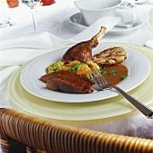 Roast goose for Martinmas