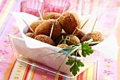 Deep-fried fish balls