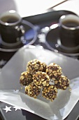 Rum Truffles dipped in Cocoa Powder
