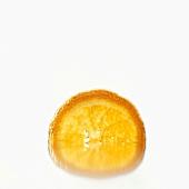 Half a slice of orange