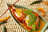 Red curry with lobster