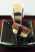 Anago sushi (Nigiri sushi with Conger eel)
