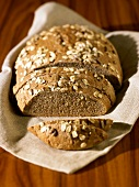 Organic mixed wheat and rye bread