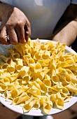 Fuzi (Pasta speciality, Croatia)