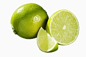 Lime: half, whole and a wedge