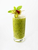 Kiwi fruit and banana shake