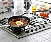 Frühstück zubereiten (England)