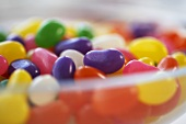 Jelly beans in a dish