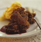 Figgy pudding (Steamed pudding, UK)