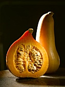 Hokkaido pumpkin and butternut squash