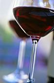 Beaujolais in glass