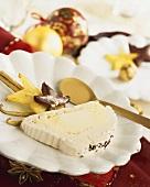 Vanilla parfait for Christmas