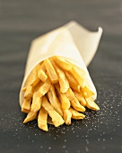 Chips in a paper cone
