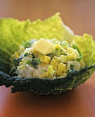 Savoy cabbage with butter