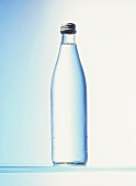A bottle of mineral water