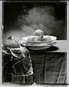 Steaming bread dumplings