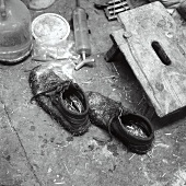 Utensils for use in a cattle stall