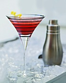 Ein Cranberry-Cocktail