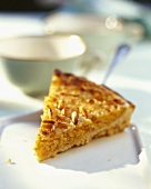 Torta al limone (Lemon tart with pine nuts, Italy)