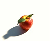 A Red Apple with Shadow