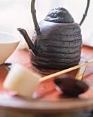 Asian Tea Pot and Utensils