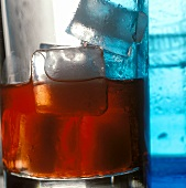 A Glass of Campari with Ice