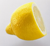 A Lemon Half from the Side