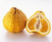 Ugli Fruit; Whole and Halved