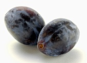 Two Damson Plums