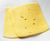 Two Slices of Edam Cheese
